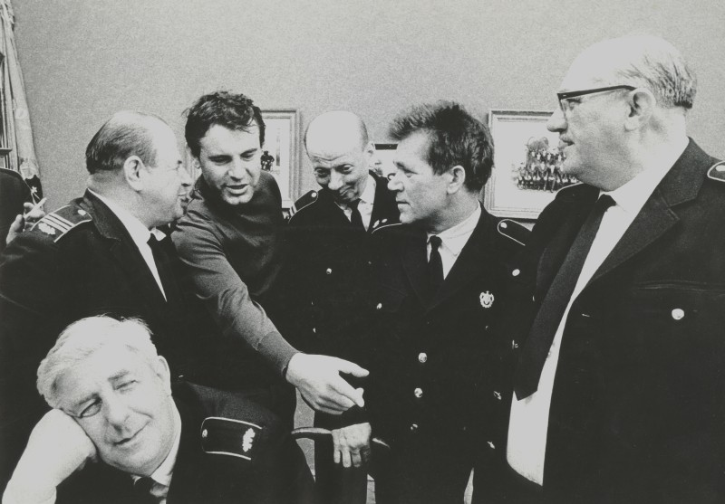 Miloš Forman directing The Firemen's Ball
